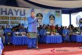 Gubernur pimpin upacara hut ke-5 Konawe Kepulauan