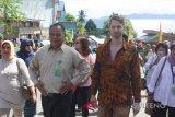 Perwakilan kedutaan besar Jerman terpesona telaga Tambing