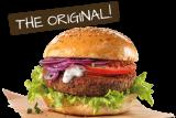 Burger unik yang dibuat dari cacing kerbau mengandung protein tinggi