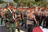 Panglima TNI dan Kapolri kunjungi Akpol