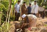 Lombok Utara bangun tiga rumah warga miskin