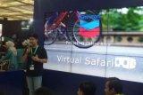 Aplikasi Virtual Safari Karya Mahasiswa PCR Memukau Pengunjung IPA Convex 2018 di Jakarta