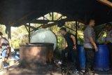 Polisi tetapkan warga Sabalau tersangka pembuat arak di Sampit