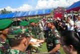 500 Personel Yonif 711/Raksatama Palu amankan perbatasan RI