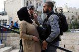 Perempuan Palestina hamil menyerah karena lukanya yang parah