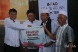 Direksi Telkomsel serahkan CSR di Masjid Agung Loteng