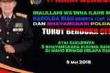 Duka Kerusuhan Mako Brimob, Polda Riau Salat Ghaib dan Doa Bersama