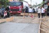 Pemprov Sumsel bantu perbaikan jalan  Kota Palembang