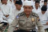 Ipda Auzar, Anggota Polda Riau yang Diserang Teroris Dimakamkan Secara Militer di sini