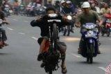 Jelang Berbuka, Jalan Hang Tuah jadi Ajang Balap Liar bagi Para Remaja