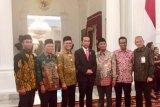 Tim Pembela Ketemu Presiden Jokowi