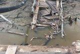 Landslide Hits Bridge in Inhil, Access 2 Villages Cut Out