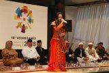 Rara dikukuhkan  Gubernur Sumsel duta Asian Games 2018