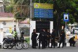 Polisi terus amankan gereja di Situbondo hingga Minggu malam
