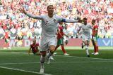 1-0 untuk Portugal karena sundulan Ronaldo