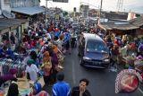 Dishub: pembuatan lapak Pasar Mangiran dua meter dari bahu jalan