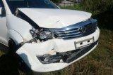 Kecelakaan rombongan Gubernur Kalteng diselesaikan secara internal