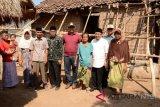 Lombok Utara bangun rumah dua warga miskin