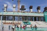 Seorang tewas tertimpa reruntuhan tiang penyangga stadion di Papua