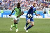 Nigeria versus Islandia tanpa gol di babak pertama