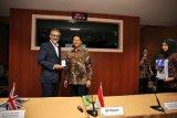 Dubes Inggris diskusikan kerjasama Inggris dan Indonesia