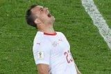 Menteri Swiss dukung selebrasi gol Xhaka-Shaqiri