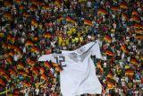 Foto-foto saat Jerman membalikkan kedudukan atas Swedia