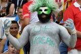 Foto-foto kemenangan Nigeria atas Islandia