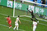 Serbia unggul sementara 1-0 atas Swiss