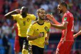 Deretan foto Lukaku-Hazard saat Belgia gilas Tunisia 5-2
