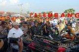 Polisi musnahkan ratusan senjata api rakitan