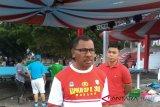 Asadoma tinjau latihan petinju  Pelatnas Asian Games
