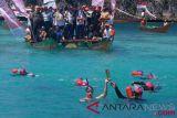 Pawai obor Asian Games Raja Ampat