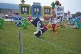 Serba-serbi  - Pengunjung manfaatkan momentum Asian Games berswafoto