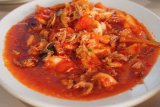 Kepiting saus padang Sambal Cafe menggoyang lidah