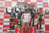 Sukses... Honda One Make Seri Sulawesi Utara