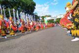 269 personel Polda Bali kawal kirab obor