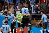 Cavani cetak kemenangan 2-1 Uruguay atas Portugal