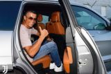 Ronaldo tiba di Turin