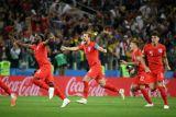 Inggris tundukkan Kolombia lewat drama adu penalti