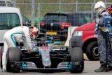 Mobil Hamilton keluar dari kualifikasi GP Jerman