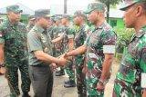 Inspektur Jenderal TNI tinjau pasukan perbatasan RI-PNG