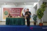 Rokhmin dahuru beri kuliah umum di Baubau
