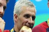 Skorsing berakhir, juara Olimpiade Ryan Lochte kembali beraksi