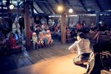 Wayang keroncong Bandung hibur anak-anak Swedia