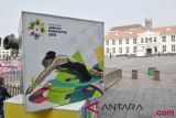 Kota Tua berornamen Asian Games
