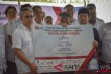 OJK Bantu Korban Gempa Lombok