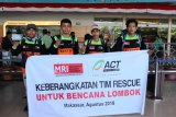ACT Sulsel terjunkan tim relawan ke Lombok