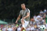 Cristiano Ronaldo gagal cetak gol saat juve kalahkan Lazio