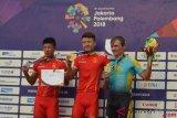 China sapu bersih emas cross country